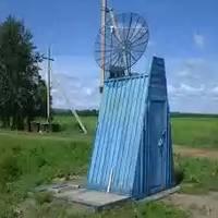 Дачный туалет деревянный типа сортир