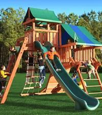 Детская площадка как элемент архитектуры малых форм