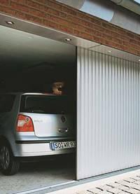 гараж с секционными воротами