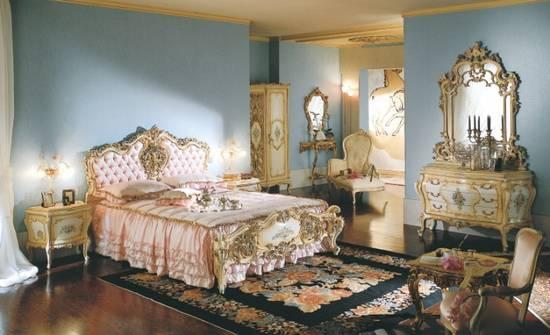 Классические итальянские спальни