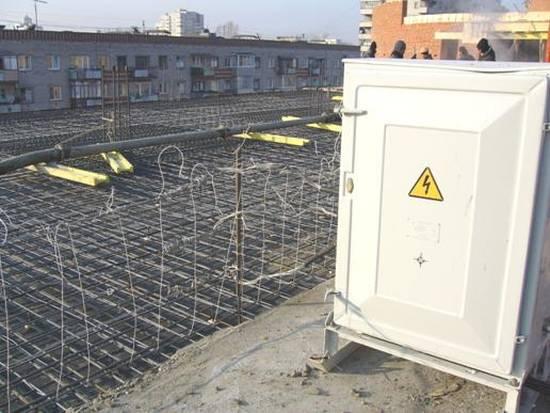 прогреть бетон