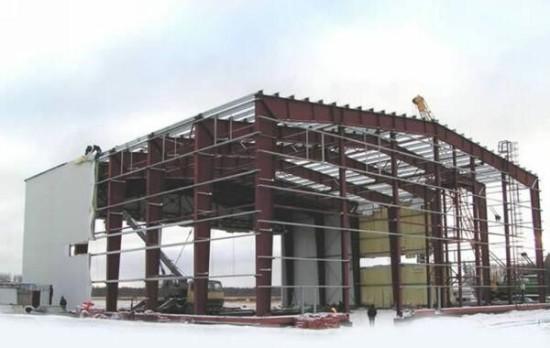 Здания металлоконструкции