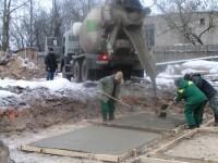 Укладка бетона в зимнее время года