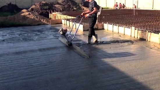 Вибрирование бетонных смесей