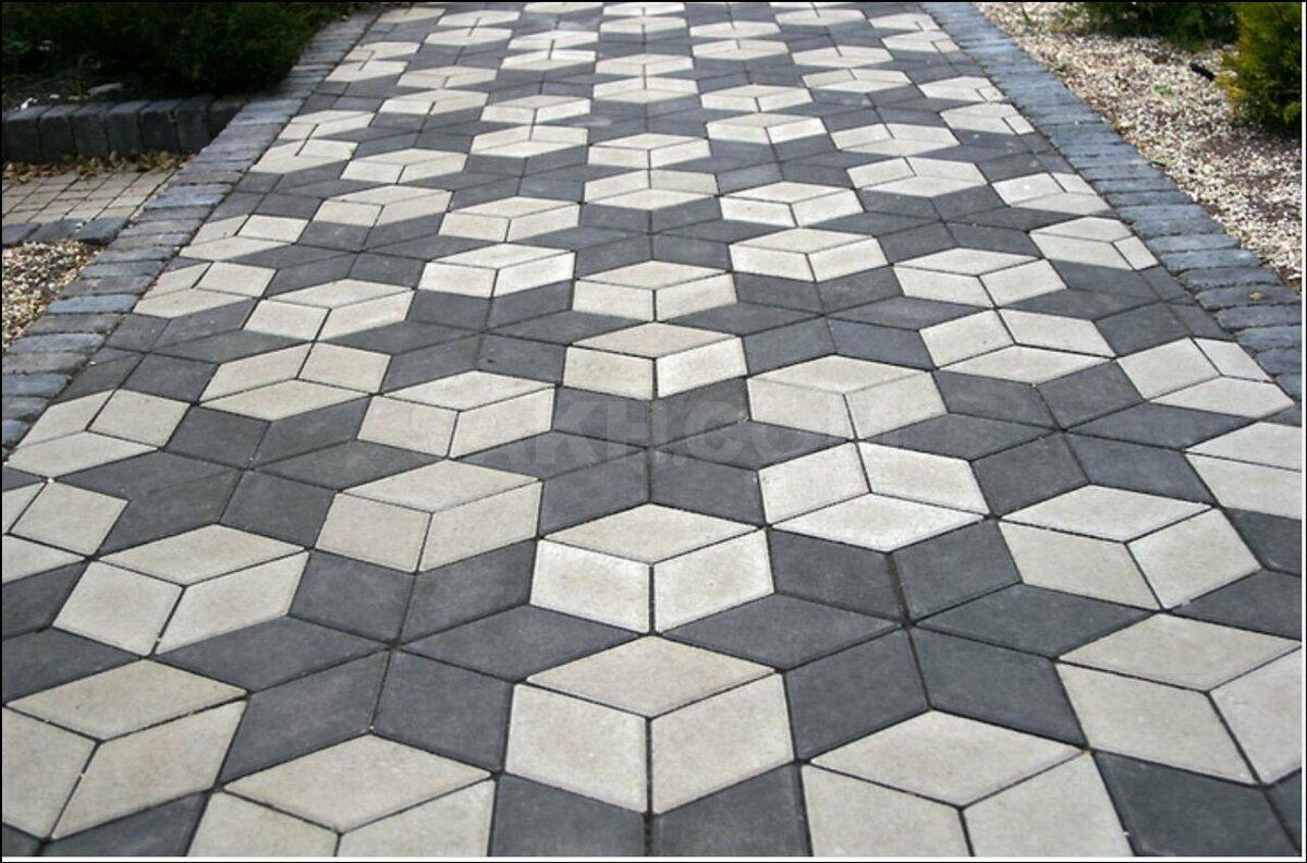 Как класть тротуарную плитку?