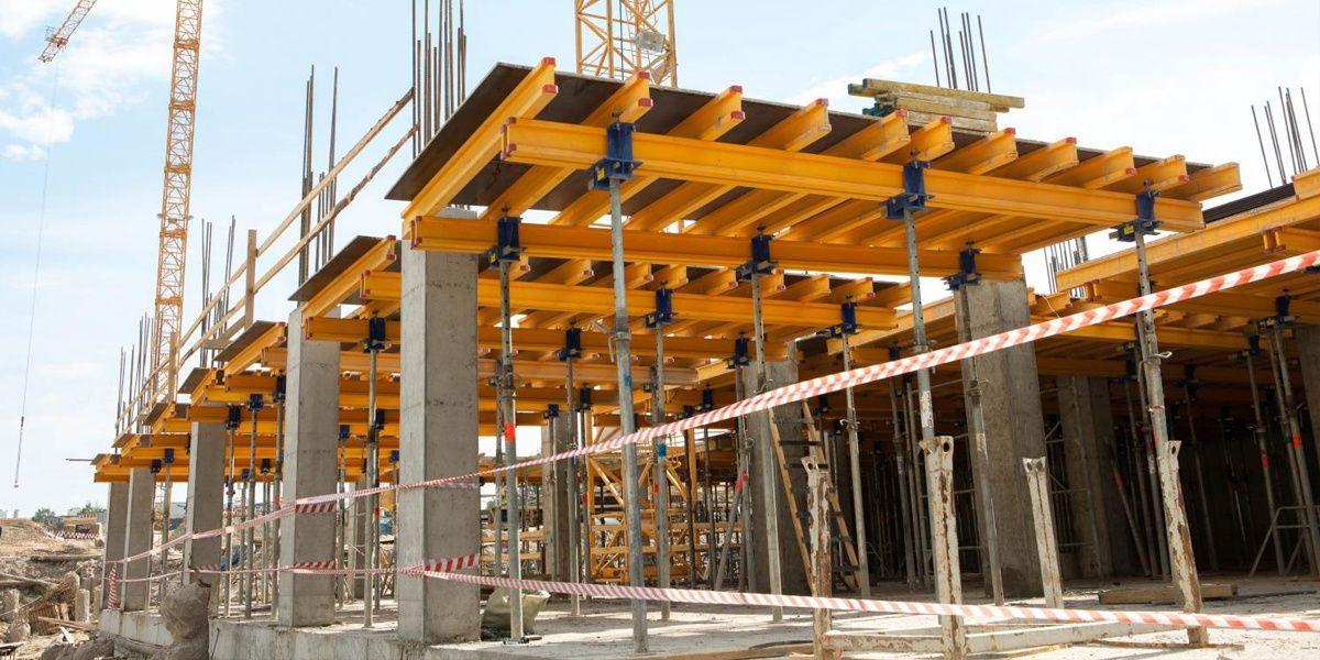 Строительство многоэтажных монолитных сооружений